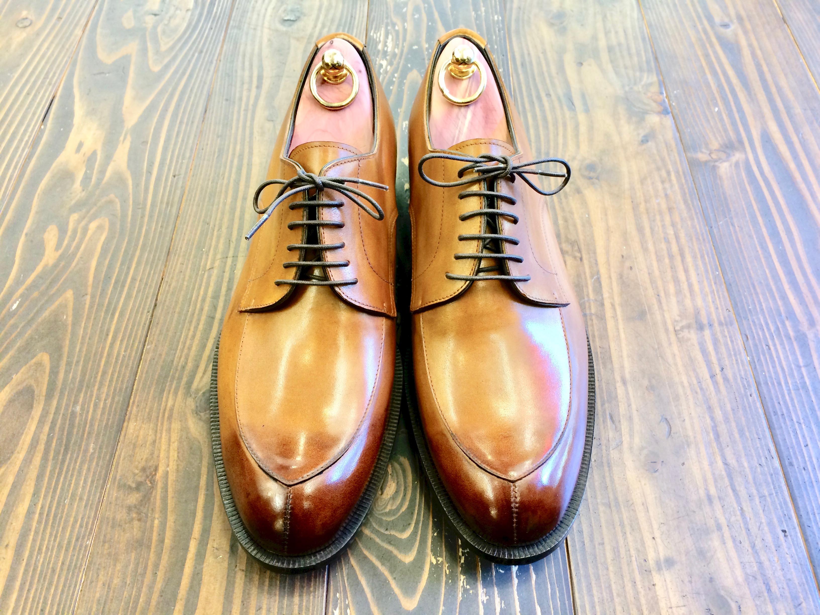 立岡靴工房オーダー靴サンプル入れ替えのため一部を販売します。